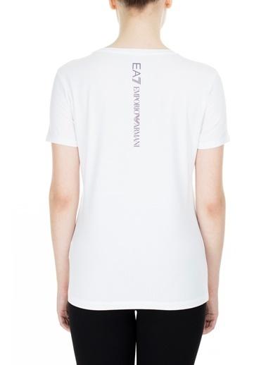 EA7 Emporio Armani  T Shirt Kadın T Shırt S 6Gtt60 Tj29Z 1100 Beyaz